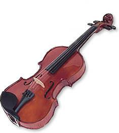 Hazelton 3/4 Student Violin Outfit w/ bow, rosin & case