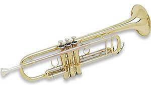 Hazelton Hazelton Trumpet  Bb - Brass Lacquer Finish with Case