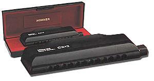 Hohner 7545 CX12-Blk  Chromonica [CX-12 C]