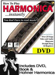 Hohner How To Play Harmonica... Instantly! [3300-dvd]