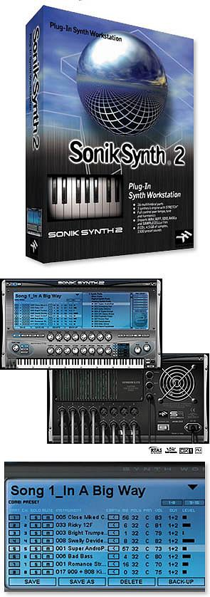 Ik Multimedia Sonik Synth 2  [SS-PLUG-HCD-IN]