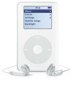 iPod 20GB Click Wheel M9282LL/A