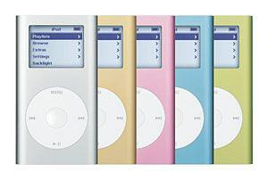 Apple iPod mini Pink
