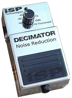ISP Decimator Noise Reduction Pedal [DECIMATOR]