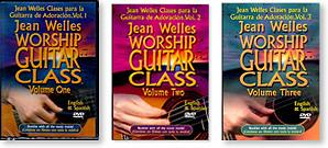 Jean Welles Worship Guitar Class Bundle Vol 1-3 DVD
