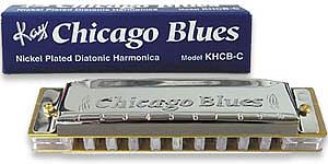 8th Street Music Chicago Blues Harmonica - Key of C
