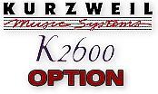 Kurzweil RMB4-26 (K2600 Series)