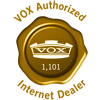 Authorized Vox Dealer