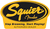 Authorized Squier Dealer