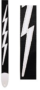 Levys DM5 Lightning Bolt Black [DM-BLK]