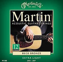 Martin M180 12-String Set X-Light
