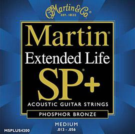 Martin 4200 SP Plus Phosphor Bronze Medium