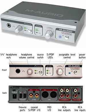 M-Audio FireWire Audiophile [99004073300]
