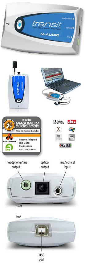 M-Audio Transit USB [99004090400]