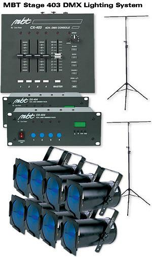 MBT Lighting Stage 403 Lighting System
