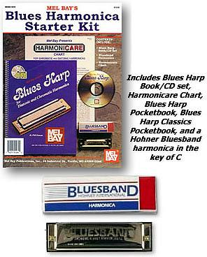 Mel Bay Blues Harmonica Starter Kit