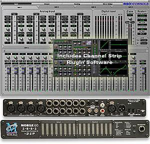 Mobile I/O 2882 +DSP w/ Channel Strip Bundle MAC OS X