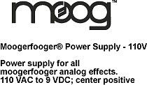 Moog Moogerfooger Power Supply - 110V