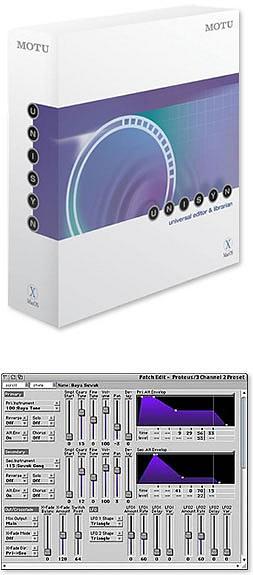 MOTU Unisyn - MAC  OS X
