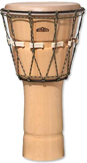 Mountain Rhythm D1020PN - Pine Djembe Natural Finish