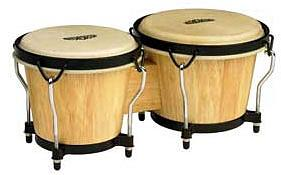 Mountain Rhythm Little Havanah Bongo-Natural Finish