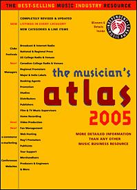 Music Resource The Musicians Atlas 2005