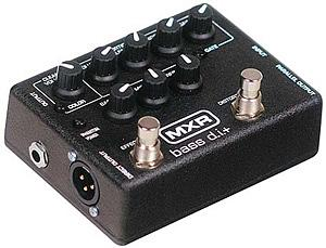 MXR Bass Disctortion + M80
