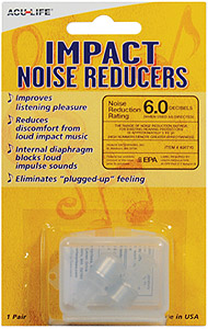 Acu-Life Impact Noise Reducers Ear Plugs [400710]