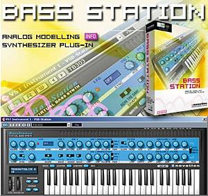 Novation Bass Station-Plug in