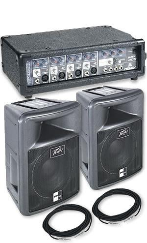 Peavey MP400 w/2 PR 12 Speakers