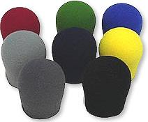 Peavey Color-Coded Windscreens,  (8 pack)