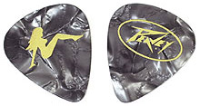 Peavey Triple XXX 351 Clam Refill - 12 Heavy Black Picks