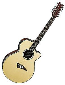 Dean Performer SE12 - Gloss Natural