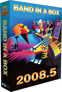 Band-in-a-Box 2008.5 (Windows)