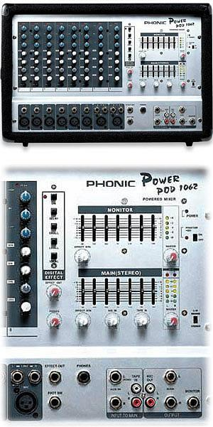 Phonic POWERPOD 1062 D