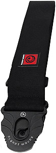Planet Waves Planet Lock Guitar Strap - Black [50PLA05]