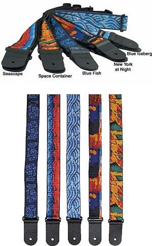 Planet Waves Jerry Garcia Signature Strap-Space Container