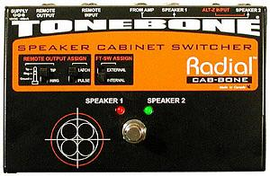 Radial Cabbone  Speaker Cabinet Switcher