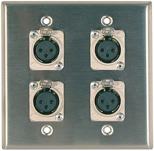 Metalwork Wallplate