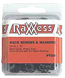 Raxxess PTSW  50 Heavy Duty Rack Screws