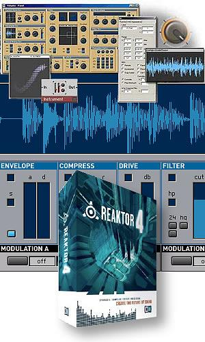 Native Instruments Reaktor 4 w/ Free Upgrade to  5