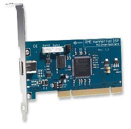 RME Audio HDSP Hammerfall PCI Card