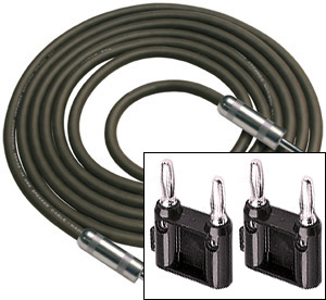 Rapco R Series Banana Speaker Cables