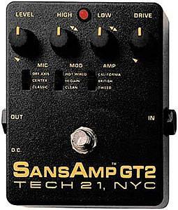 Tech21 SansAmp GT2 [GT2]