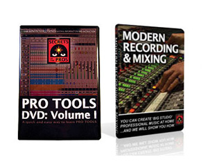 Secrets of the Pros Pro Tools DVD Vol. 1 & Modern Recording & Mixing DVD