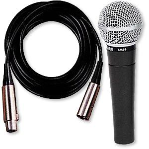Shure SM58 with Cable [SM58-CN]