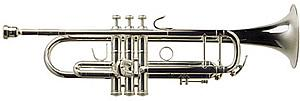 TRC800 Trumpet (Silver Finish)