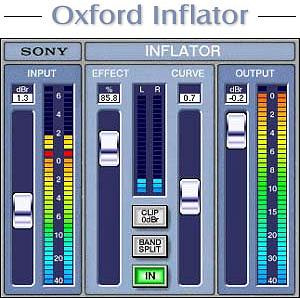 Sony Oxford Inflator  ProTools LE/ MAC/Windows Version