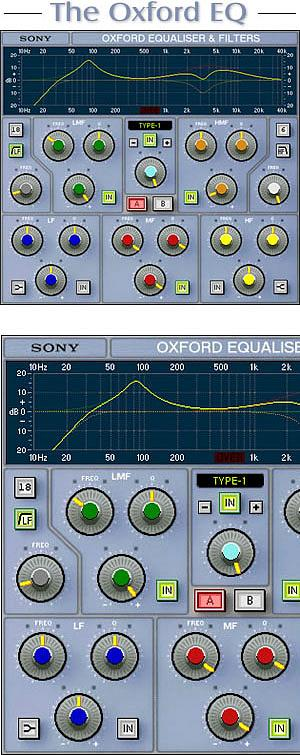 Sony Oxford OXF-R3 EQ   ProTools LE/Windows Version