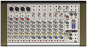 Soundcraft COMPACT 10 Mixer [RW5678US]